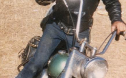 1950 Panhead in Sturgis 1984