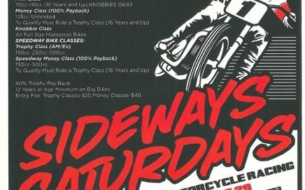 """Sideways Saturdays"" Flat Track Speedway Motorcycle Racing at Redwood Acres Eureka CA"
