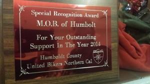 M.O.B. UBNC award 2014