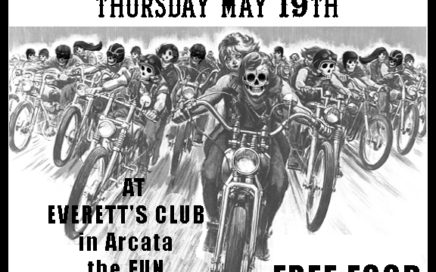 M.O.B. of Humboldt County, CA Bike Nite May 2016